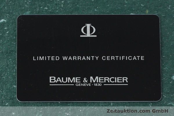 Used luxury watch Baume & Mercier Capeland chronograph steel automatic Kal. BM 13750 ETA 7750 Ref. 65352  | 142021 08