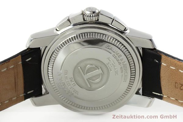 Used luxury watch Baume & Mercier Capeland chronograph steel automatic Kal. BM 13750 ETA 7750 Ref. 65352  | 142021 09