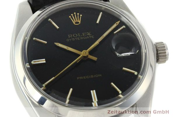Used luxury watch Rolex Precision steel manual winding Kal. 1225 Ref. 6694  | 142025 02