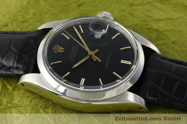 Used luxury watch Rolex Precision steel manual winding Kal. 1225 Ref. 6694  | 142025 14