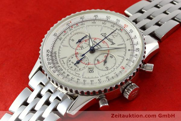 Used luxury watch Breitling Montbrillant chronograph steel automatic Kal. B41 ETA 2892-2 Ref. A41330  | 142027 01