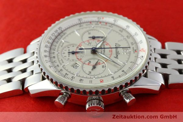 Used luxury watch Breitling Montbrillant chronograph steel automatic Kal. B41 ETA 2892-2 Ref. A41330  | 142027 05