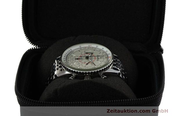 Used luxury watch Breitling Montbrillant chronograph steel automatic Kal. B41 ETA 2892-2 Ref. A41330  | 142027 07