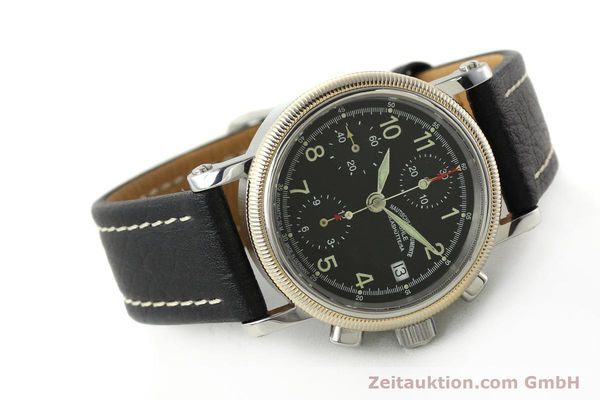Used luxury watch Mühle Chronograph II chronograph steel / gold automatic Kal. ETA 7750 Ref. M13150  | 142029 03