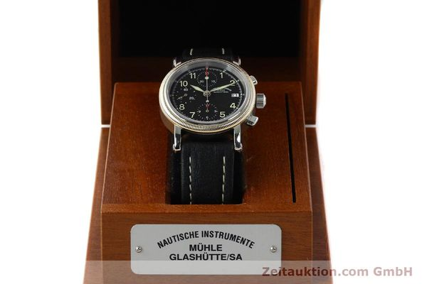 Used luxury watch Mühle Chronograph II chronograph steel / gold automatic Kal. ETA 7750 Ref. M13150  | 142029 07