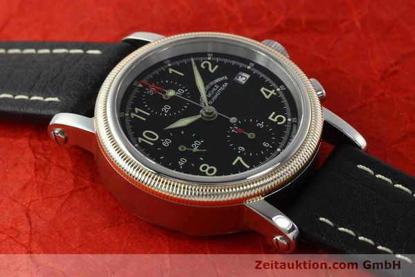 Used luxury watch Mühle Chronograph II chronograph steel / gold automatic Kal. ETA 7750 Ref. M13150  | 142029 14