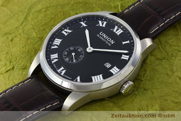 Used luxury watch Union Glashütte * steel automatic Kal. 2899-ZZ7 ETA 2899 Ref. D007.428A  | 142030 01