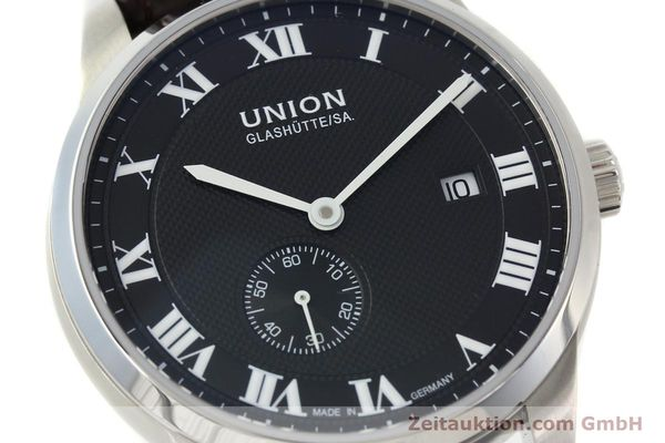 Used luxury watch Union Glashütte * steel automatic Kal. 2899-ZZ7 ETA 2899 Ref. D007.428A  | 142030 02
