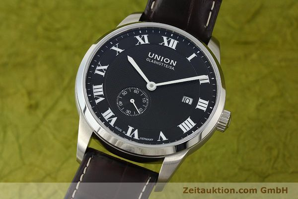 Used luxury watch Union Glashütte * steel automatic Kal. 2899-ZZ7 ETA 2899 Ref. D007.428A  | 142030 04