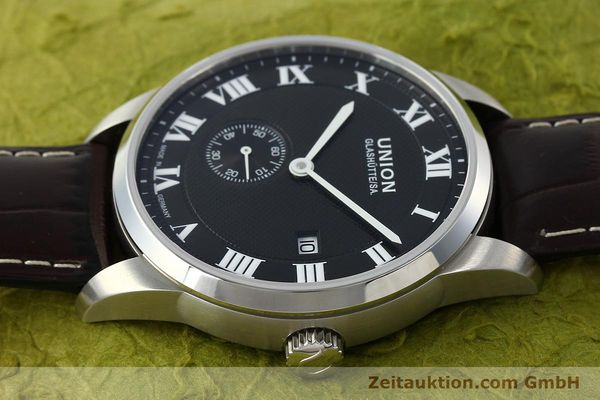 Used luxury watch Union Glashütte * steel automatic Kal. 2899-ZZ7 ETA 2899 Ref. D007.428A  | 142030 05