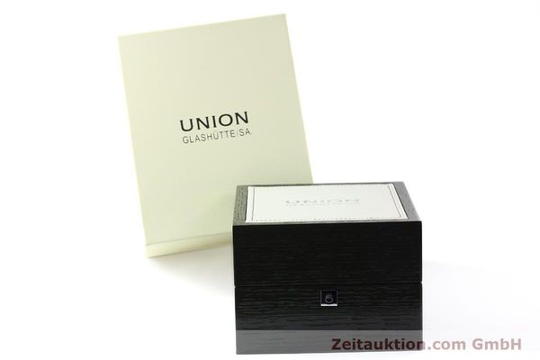 Used luxury watch Union Glashütte * steel automatic Kal. 2899-ZZ7 ETA 2899 Ref. D007.428A  | 142030 06
