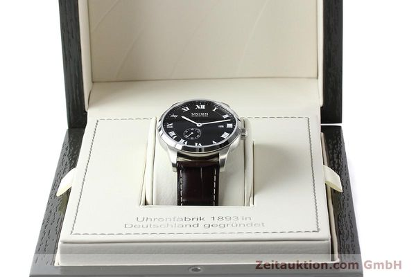 Used luxury watch Union Glashütte * steel automatic Kal. 2899-ZZ7 ETA 2899 Ref. D007.428A  | 142030 07