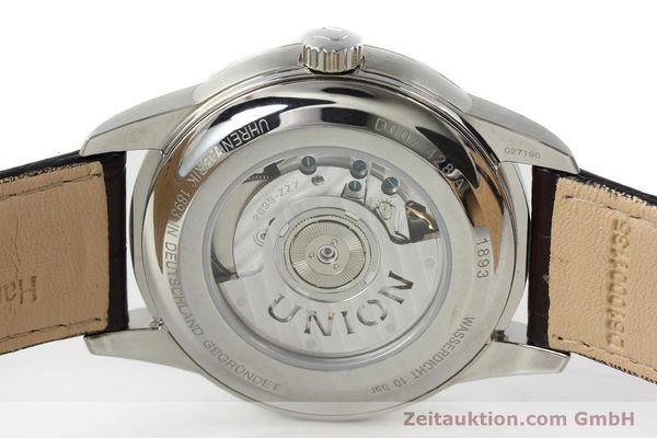 Used luxury watch Union Glashütte * steel automatic Kal. 2899-ZZ7 ETA 2899 Ref. D007.428A  | 142030 09