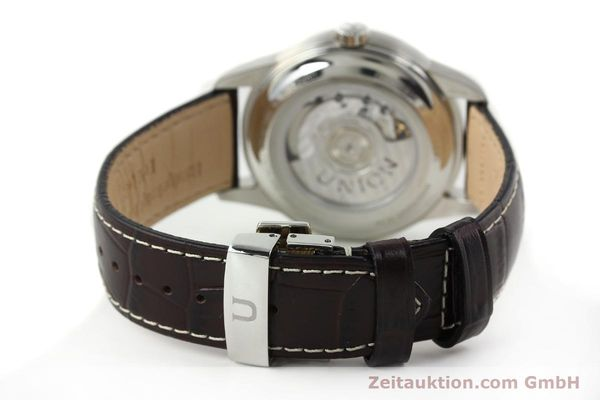 Used luxury watch Union Glashütte * steel automatic Kal. 2899-ZZ7 ETA 2899 Ref. D007.428A  | 142030 12