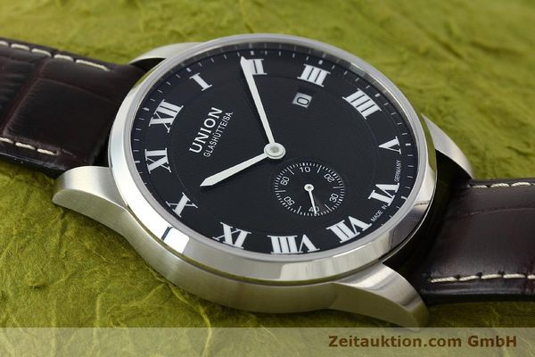 Used luxury watch Union Glashütte * steel automatic Kal. 2899-ZZ7 ETA 2899 Ref. D007.428A  | 142030 15