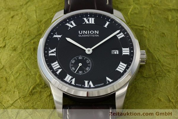 Used luxury watch Union Glashütte * steel automatic Kal. 2899-ZZ7 ETA 2899 Ref. D007.428A  | 142030 16