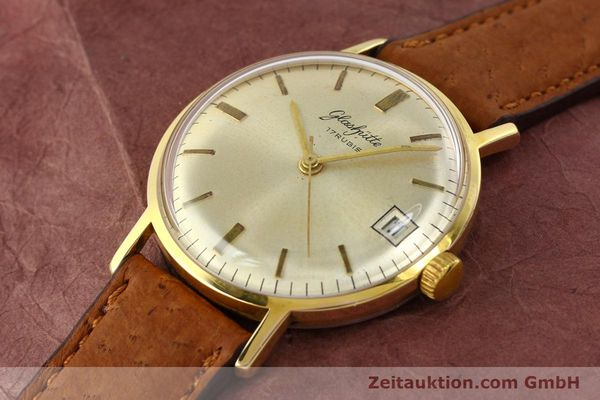 Used luxury watch Glashütte * gold-plated manual winding Kal. 69.1  | 142031 01