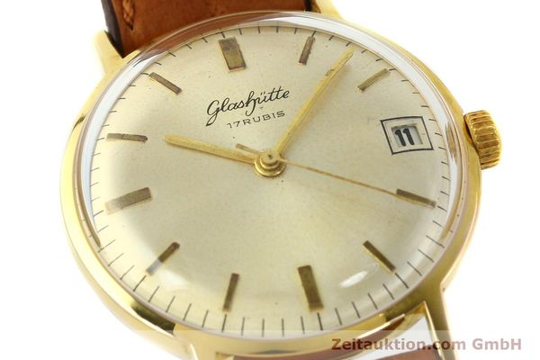 Used luxury watch Glashütte * gold-plated manual winding Kal. 69.1  | 142031 02