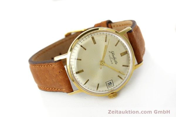 Used luxury watch Glashütte * gold-plated manual winding Kal. 69.1  | 142031 03