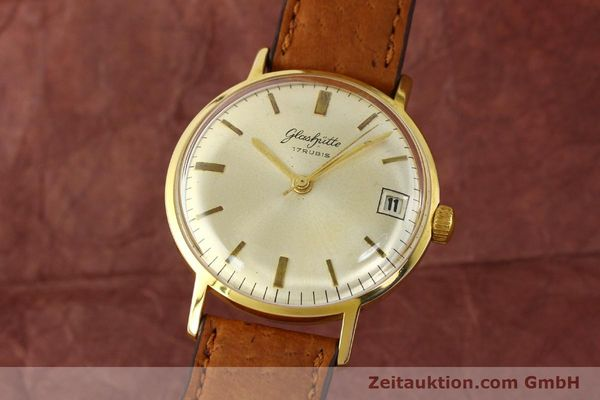 Used luxury watch Glashütte * gold-plated manual winding Kal. 69.1  | 142031 04