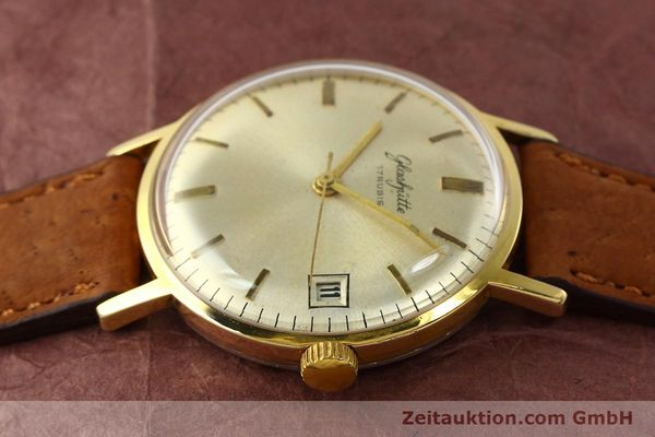 Used luxury watch Glashütte * gold-plated manual winding Kal. 69.1  | 142031 05