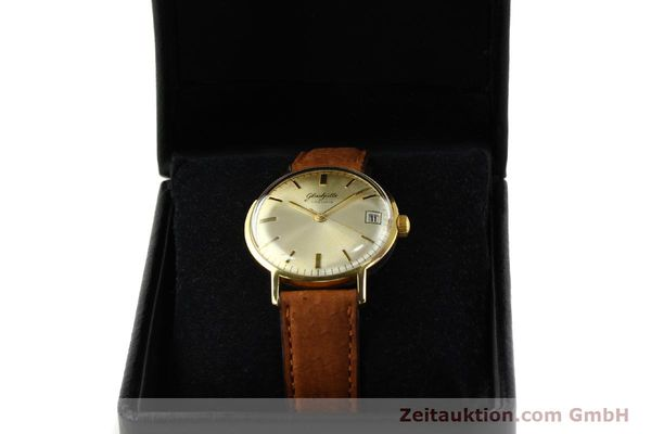 Used luxury watch Glashütte * gold-plated manual winding Kal. 69.1  | 142031 07