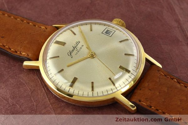 Used luxury watch Glashütte * gold-plated manual winding Kal. 69.1  | 142031 12