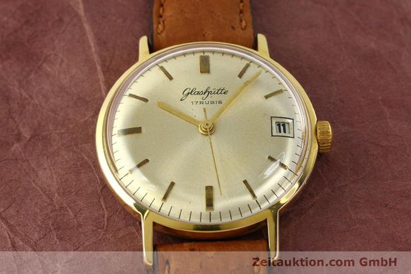 Used luxury watch Glashütte * gold-plated manual winding Kal. 69.1  | 142031 13
