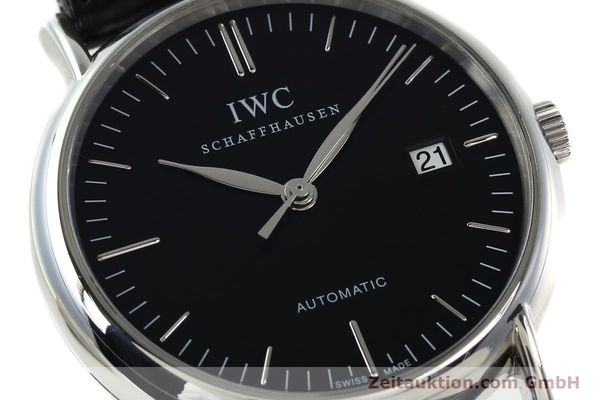 Used luxury watch IWC Portofino steel automatic Kal. 30110 Ref. 356305  | 142033 02