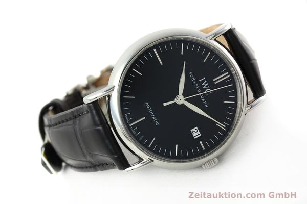 Used luxury watch IWC Portofino steel automatic Kal. 30110 Ref. 356305  | 142033 03