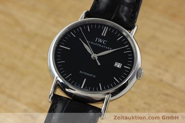 Used luxury watch IWC Portofino steel automatic Kal. 30110 Ref. 356305  | 142033 04