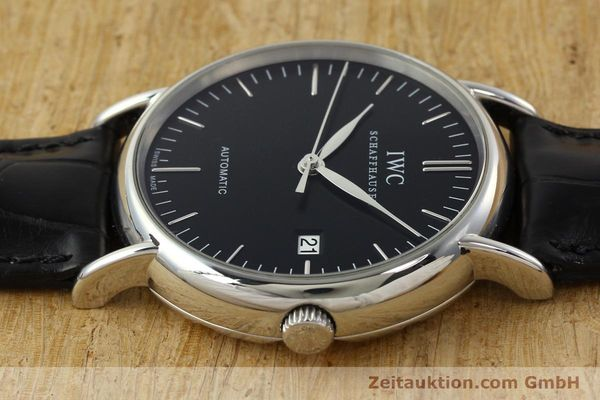 Used luxury watch IWC Portofino steel automatic Kal. 30110 Ref. 356305  | 142033 05