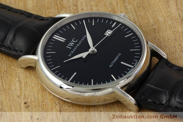 Used luxury watch IWC Portofino steel automatic Kal. 30110 Ref. 356305  | 142033 17