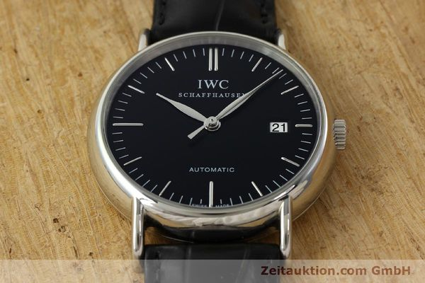 Used luxury watch IWC Portofino steel automatic Kal. 30110 Ref. 356305  | 142033 18