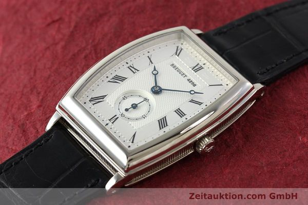 montre de luxe d occasion Breguet * or blanc 18 ct automatique Kal. 552 Ref. 3670  | 142034 01