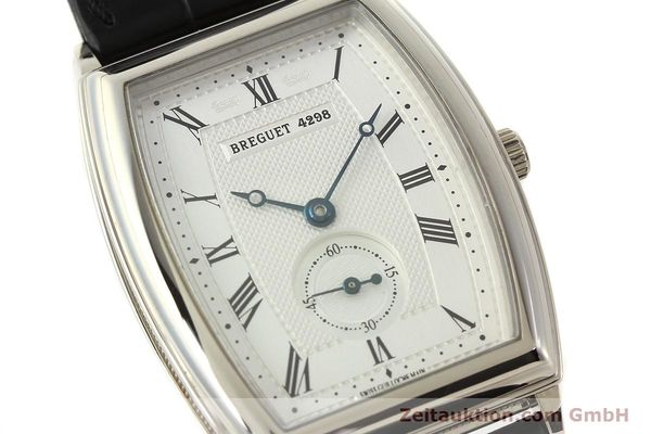montre de luxe d occasion Breguet * or blanc 18 ct automatique Kal. 552 Ref. 3670  | 142034 02