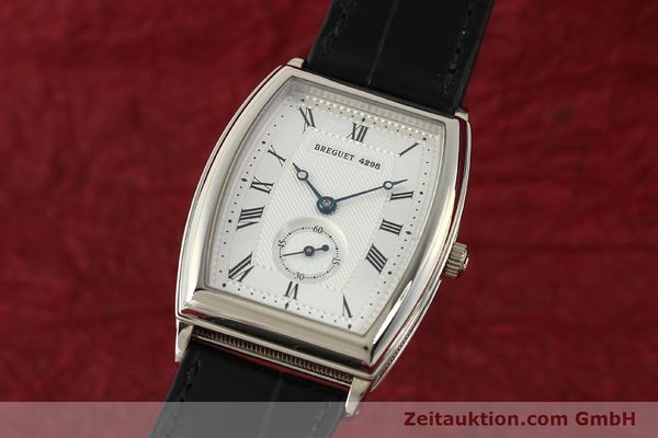 montre de luxe d occasion Breguet * or blanc 18 ct automatique Kal. 552 Ref. 3670  | 142034 04
