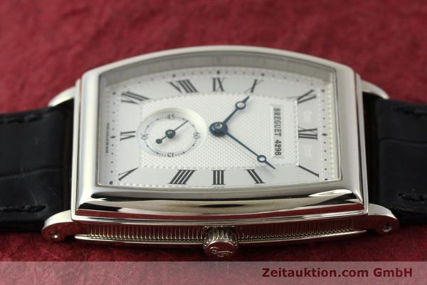 montre de luxe d occasion Breguet * or blanc 18 ct automatique Kal. 552 Ref. 3670  | 142034 05
