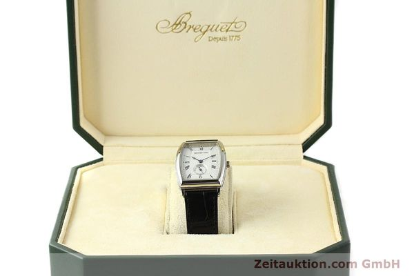 montre de luxe d occasion Breguet * or blanc 18 ct automatique Kal. 552 Ref. 3670  | 142034 07