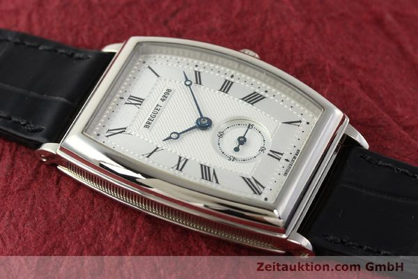montre de luxe d occasion Breguet * or blanc 18 ct automatique Kal. 552 Ref. 3670  | 142034 16