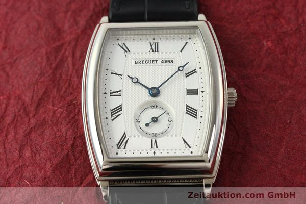 montre de luxe d occasion Breguet * or blanc 18 ct automatique Kal. 552 Ref. 3670  | 142034 17