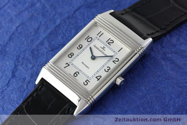 Used luxury watch Jaeger Le Coultre Reverso steel manual winding Kal. 688 Ref. 250886  | 142037 01