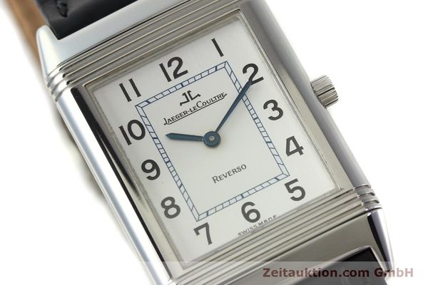 Used luxury watch Jaeger Le Coultre Reverso steel manual winding Kal. 688 Ref. 250886  | 142037 02
