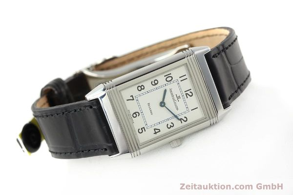 Used luxury watch Jaeger Le Coultre Reverso steel manual winding Kal. 688 Ref. 250886  | 142037 03