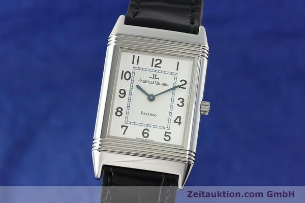 Used luxury watch Jaeger Le Coultre Reverso steel manual winding Kal. 688 Ref. 250886  | 142037 04