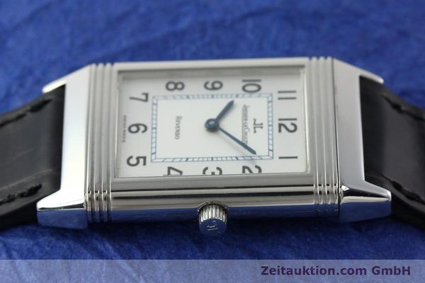Used luxury watch Jaeger Le Coultre Reverso steel manual winding Kal. 688 Ref. 250886  | 142037 05