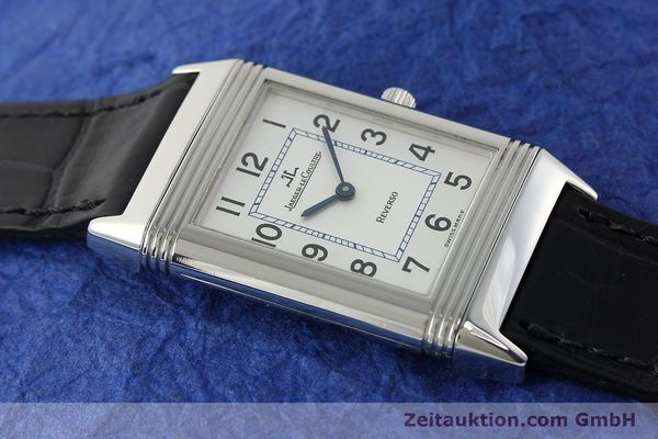 Used luxury watch Jaeger Le Coultre Reverso steel manual winding Kal. 688 Ref. 250886  | 142037 15