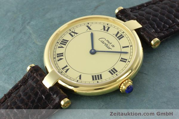 Used luxury watch Cartier Vermeil silver-gilt quartz Kal. 90.06  | 142038 01