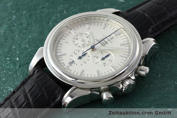 Used luxury watch Omega De Ville chronograph steel automatic Kal. 3313B Ref. 48413132  | 142039 01