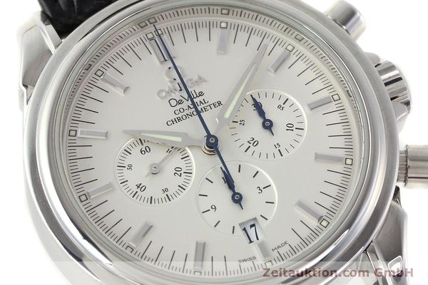 Used luxury watch Omega De Ville chronograph steel automatic Kal. 3313B Ref. 48413132  | 142039 02